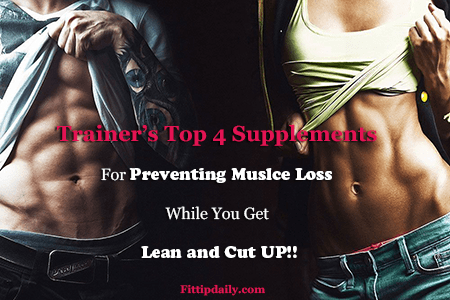 prevent muscle wasting with supplements