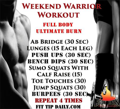 Body Burn workout