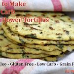 Low Carb Recipe Monday – Cauliflower Tortillas