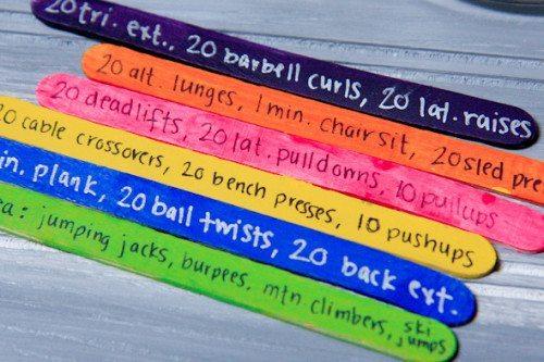 fun ways to make your own workout routine