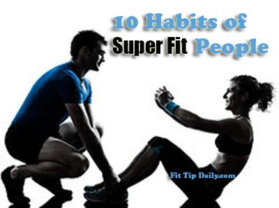 habits of healthy people