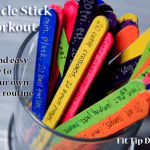 Pinterest Hack – How to Make Your Own Workout Routine Using Popsicle Sticks