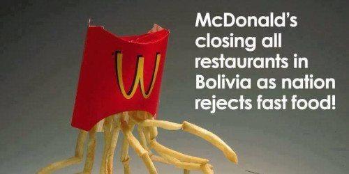 McDonalds are closing