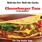 Cut The Carbs – Ditch the Bun With Lean Cheeseburger Tacos