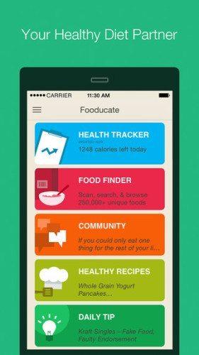 food tracker app