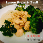 Lemongrass Basil Chicken Recipe