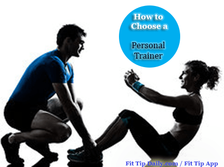 choosing a personal trainer