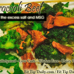 Low Carb, Paleo and Bulletproof Broccoli Beef