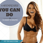 6 Fast Ab Exercises You Can Do in Under 10 Minutes
