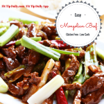 Mongolian Beef – Low Carb Monday – Gluten Free, Dairy Free