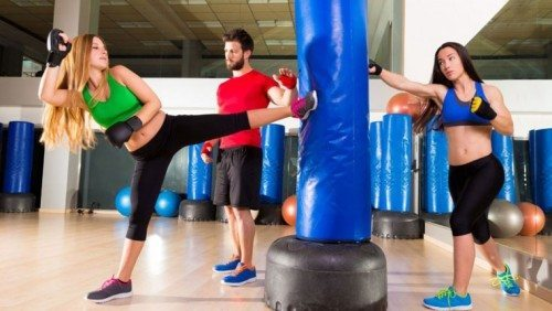 combination of yoga and boxing