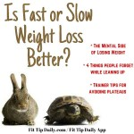 Slow and Steady Weight Loss Could Be the Solution