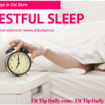 5 Ways to Get More Restful Sleep