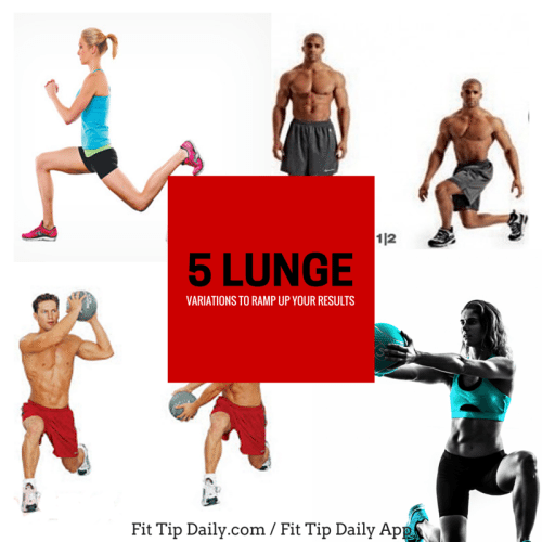 5 lunges variations