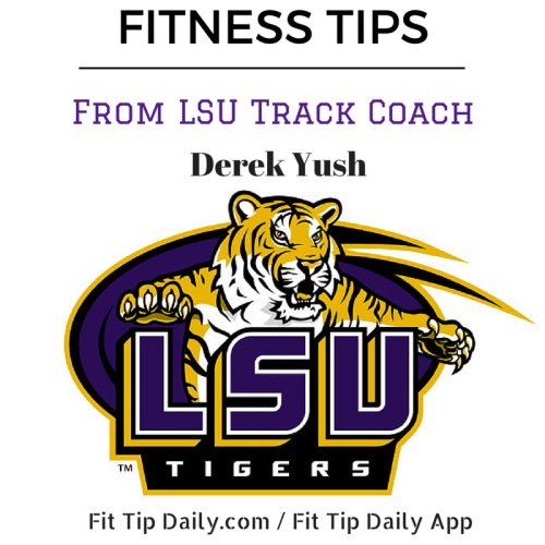 fitness tips from lsu