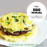 "The ""McLean"" –  Paleo Egg Sandwich"