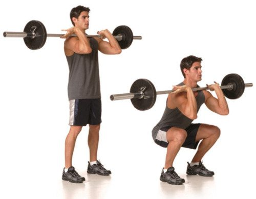 how to preform a front squat