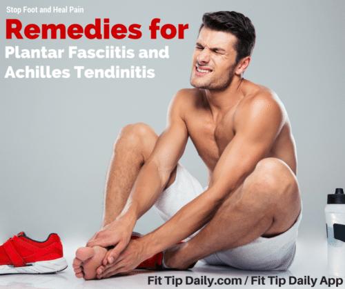 plantar fasciitis achilles tendonitis