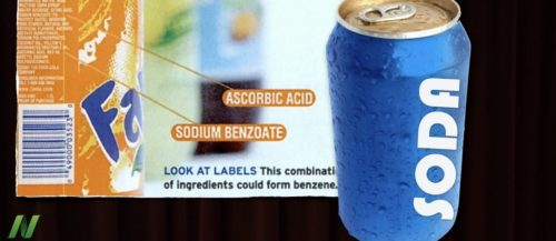 sodium benzoate in foods