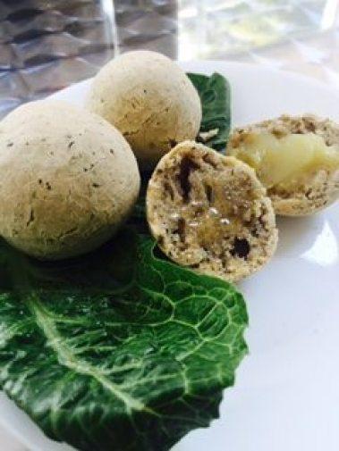 Brazilian bread balls