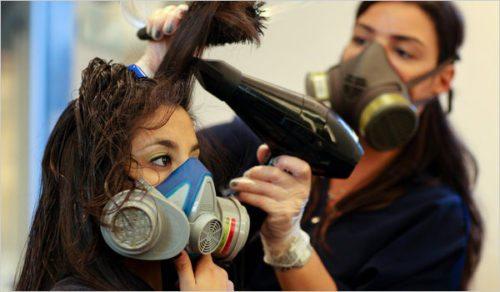 Brazilian blowouts toxic