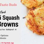 Low Carb Monday – Spaghetti Squash Hash Browns