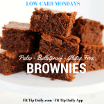 Low Carb Monday – Paleo Brownies