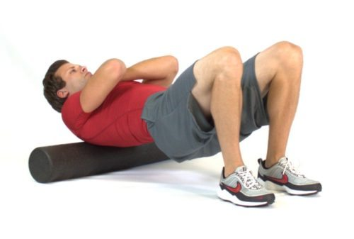 how to foam roll your upper back