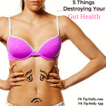 5 Things That Could Be Destroying Your Gut Health