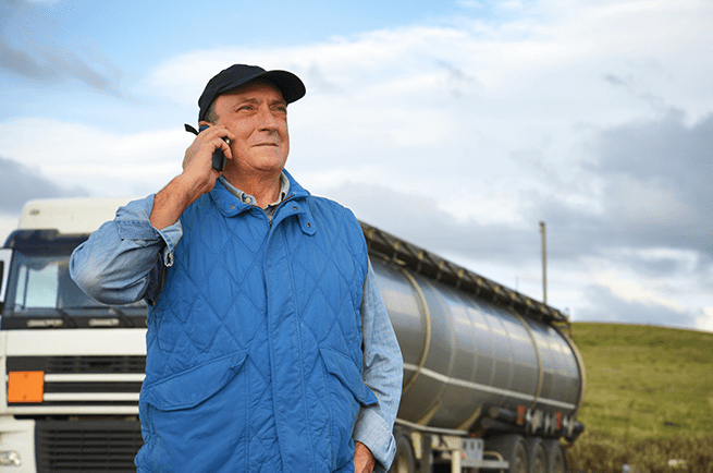 Truck Driver Cell Phone