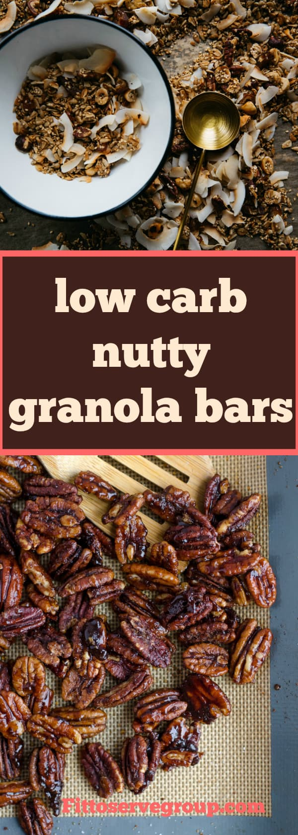 ow carb nutty granola bars