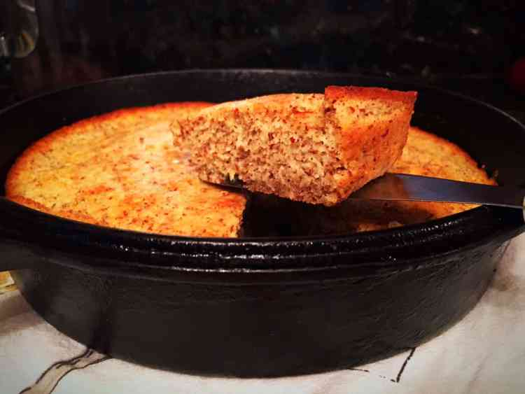 "Low Carb ""Corn"" Bread"