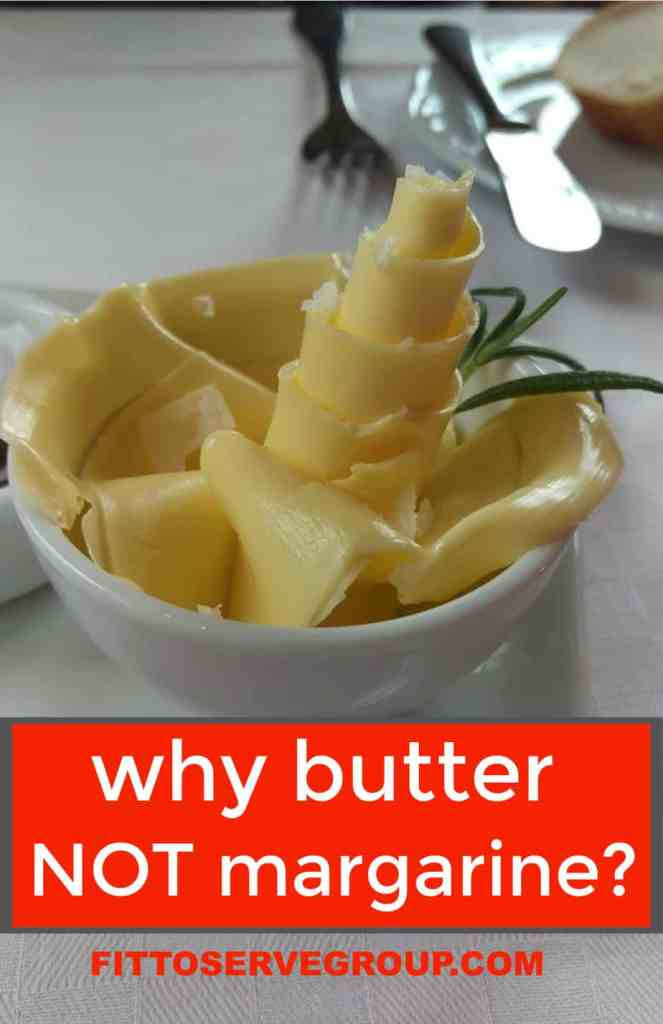 why butter not margarine