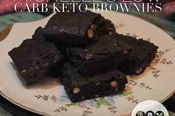 Low Carb Keto Brownie