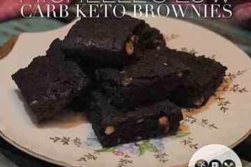 Low Carb Keto Brownie