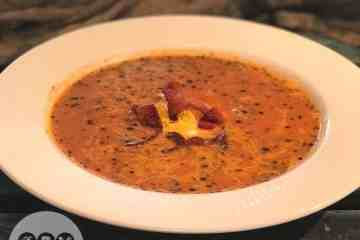 Low Carb Tomato Bacon Cheddar Soup