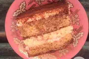 Low Carb Keto Friendly Tiramisu Cake