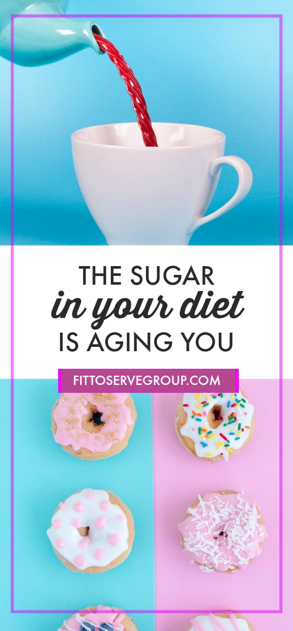 the sugar in your diet is aging you