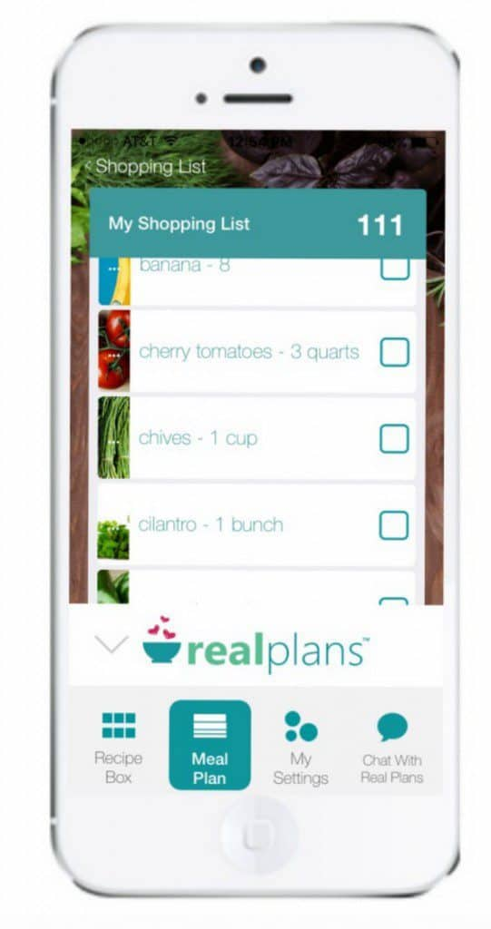 Real Plans mobile app