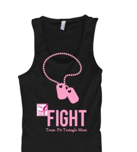 Fight Tee, Breast Cancer awareness