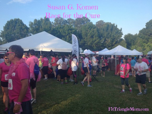 Why I Run the Susan G. Komen race for the cure, FitTraingleMom.com