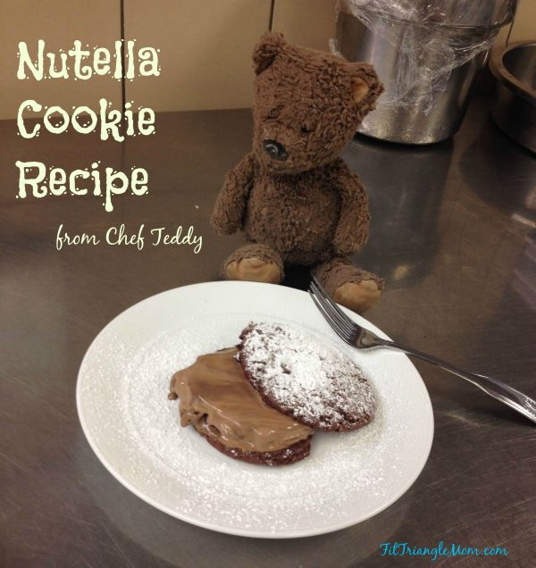 Nutella Cookie Recipe from Chef Teddy Diggs of Il Palio restaurant