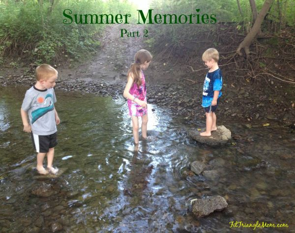 Summer Memories, Park and Creek, FitTriangleMom.com