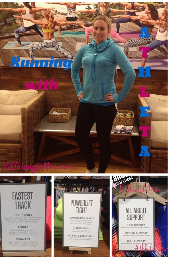 Running with Athleta. A guide to finding your perfect fit running apparel from a supportive bra, compression tights and a fast track tank from Athleta. Women's apparel designed by Women athletes.