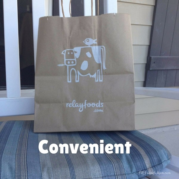 Convenient- shopping at Relay Foods. Choose delivery or pick-up at a local location.