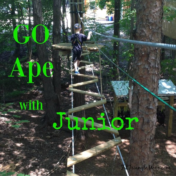 Go Ape Junior is an adventure course in the trees designed especially for kids.
