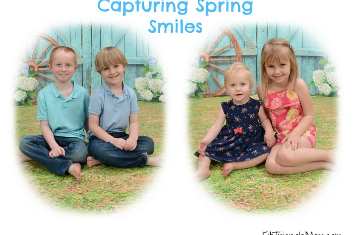 capturing spring smiles at Portrait Innovations is easy, affordable and memorable.