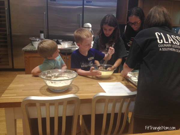 Southern Season cooking class- Summer Fun activities in the Triangle, NC. Keep kids and parents busy all summer long.