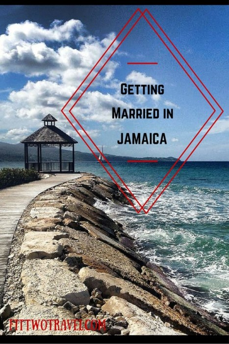 destination wedding jamaica beach wedding paradise fittwotravel.com