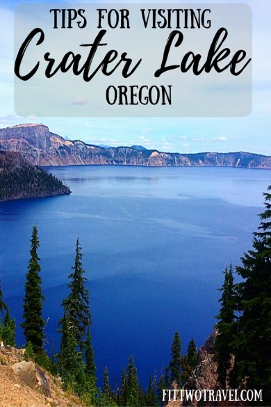 Tips for Visiting Crater lake National park, Oregon. Days Trips from portland fittwotravel.com